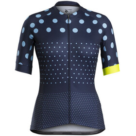 Bontrager Anara LTD Cycling SS Jersey Women Deep Dark Blue/Azure